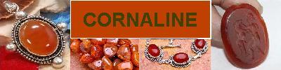 Bijoux en argent 925 avec pierre CORNALINE - achat et  vente - bagues, colliers, bracelets, parures, boucles oreilles, pendentif