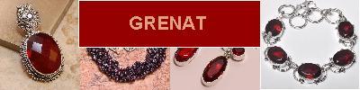 Bijoux en argent 925 avec pierre GRENAT - achat et  vente - bagues, colliers, bracelets, parures, boucles oreilles, pendentifs,