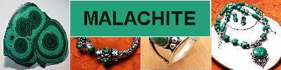 Bijoux en argent 925 avec pierre MALACHITE - achat et  vente - bagues, colliers, bracelets, parures, boucles oreilles, pendentif