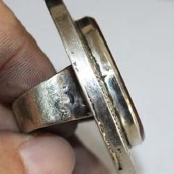 Af 0259 bague coranique cornaline verset coran argent 5