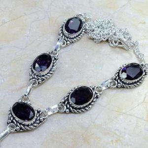 Am 1051c collier parure sautoir 1900 amethyste pourpre bijou achat vente argent 925