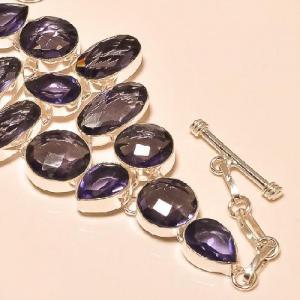Am 1146c bracelet 1900 belle epoque amethyste violette pourpre bijou achat vente argent 925