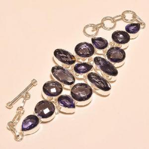 Am 1146d bracelet 1900 belle epoque amethyste violette pourpre bijou achat vente argent 925