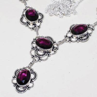 Am 1244b collier parure sautoir 1900 amethyste pourpre bijou achat vente