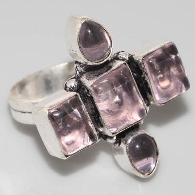 Am 1267a bague croix medievale amethyste violet 1900 bijoux achat vente argent 925