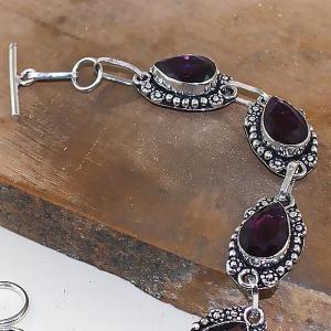 Am 1275b bracelet 1900 belle epoque amethyste violette pourpre bijou achat vente argent 925