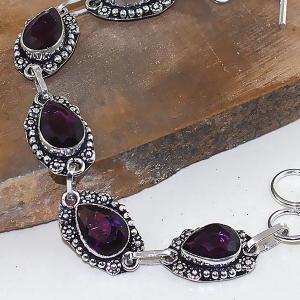 Am 1275c bracelet 1900 belle epoque amethyste violette pourpre bijou achat vente argent 925