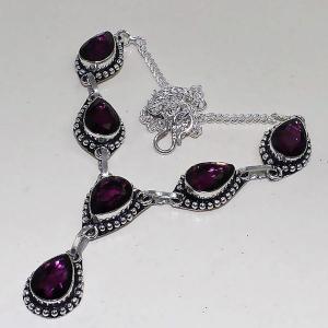 Am 1285d collier parure sautoir 1900 amethyste pourpre bijou achat vente