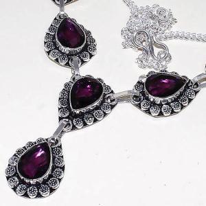 Am 1286b collier parure sautoir 1900 amethyste pourpre bijou achat vente