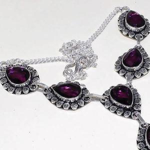 Am 1286c collier parure sautoir 1900 amethyste pourpre bijou achat vente