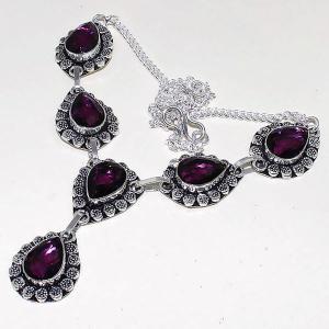Am 1286d collier parure sautoir 1900 amethyste pourpre bijou achat vente
