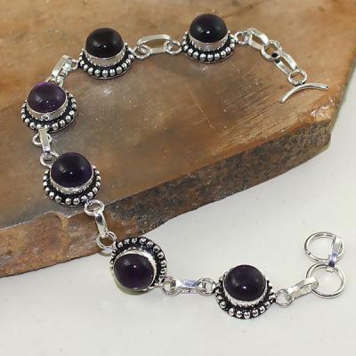 Am 1291a bracelet 1900 belle epoque amethyste violette pourpre bijou achat vente argent 925