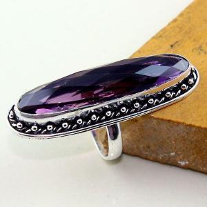 Am 1312a bague t63 medievale amethyste violet 1900 bijoux achat vente argent 925