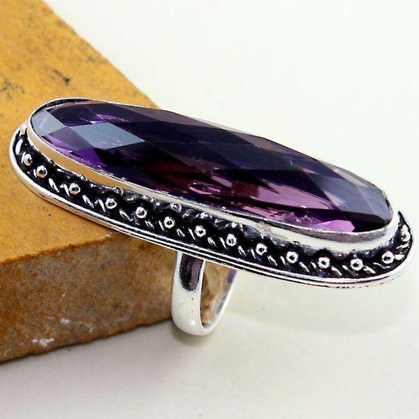 Am 1312b bague t63 medievale amethyste violet 1900 bijoux achat vente argent 925