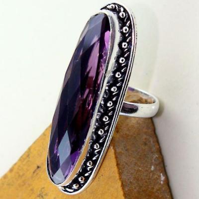 Am 1312c bague t63 medievale amethyste violet 1900 bijoux achat vente argent 925