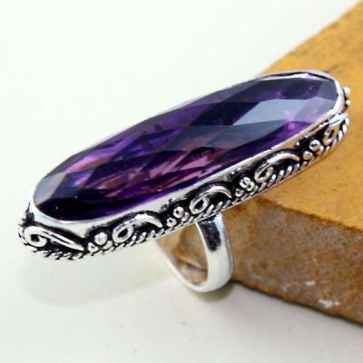 Am 1313a bague t57 medievale amethyste violet 1900 bijoux achat vente argent 925