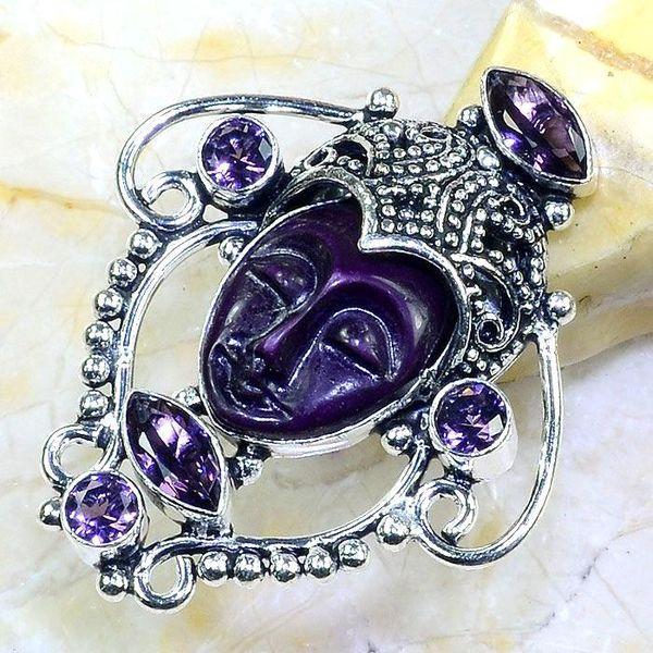 Am 1343a bague chevaliere t53 bouddha amethyste violet 1900 bijoux achat vente argent 925
