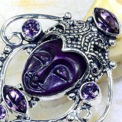 Am 1343c bague chevaliere t53 bouddha amethyste violet 1900 bijoux achat vente argent 925