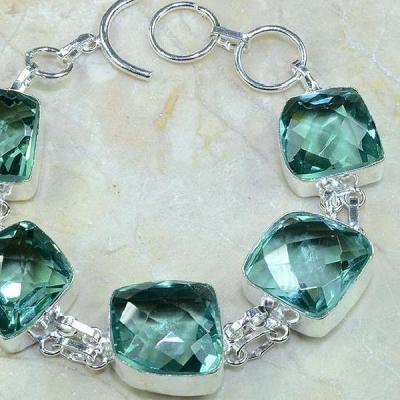 Am 2011b bracelet amethyste verte bijou achat vente argent 925