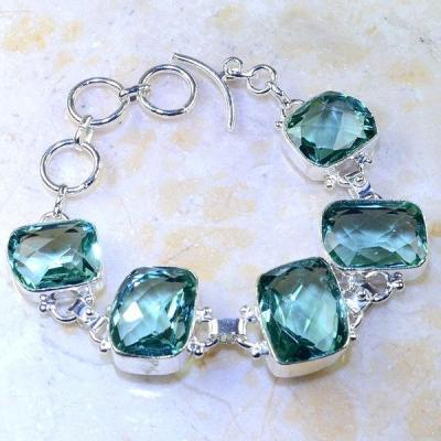 Am 2068a bracelet amethyste vert eau bijou achat vente argent 925