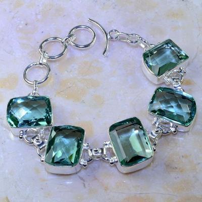 Am 3088a bracelet aigue marine bijou achat vente argent 925