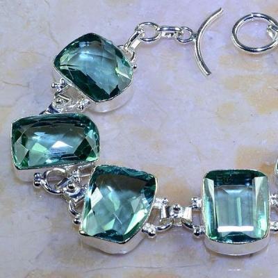 Am 3089b bracelet aigue marine bijou achat vente argent 925