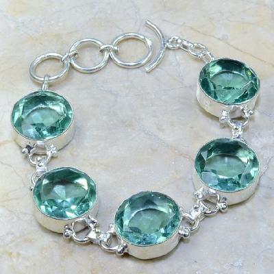 Am 3103a bracelet aigue marine bijou achat vente argent 925