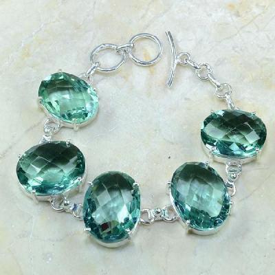 Am 3110a bracelet aigue marine bijou achat vente argent 925