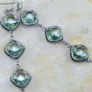 Am 3148c boucles oreilles pendants aigue marine verte bijou achat vente argent 925