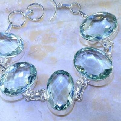 Am 3175b bracelet aigue marine bleue bijou achat vente argent 925