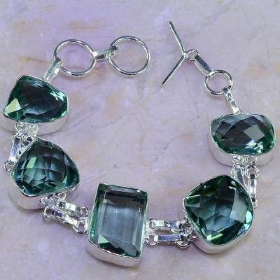Am 3198a bracelet aigue marine bleue bijou achat vente argent 925
