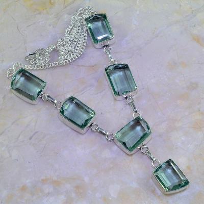 Am 3202a collier parure sautoir aigue marine bleue bijou achat vente argent 925