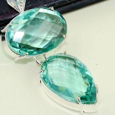 Am 3232c pendentif aigue marine bijou achat vente bijoux argent 925