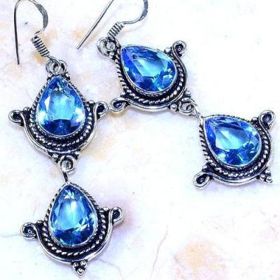 Am 3243c boucles oreilles aigue marine 10x15mm bleue bijou achat vente argent 925