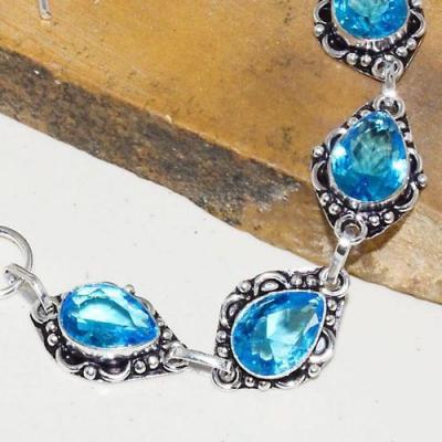 Am 3255b bracelet aigue marine bleue bijou achat vente argent 925