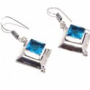 Am 3370c collier boucles oreilles aigue marine bleue 26gr bijou achat vente argent 925