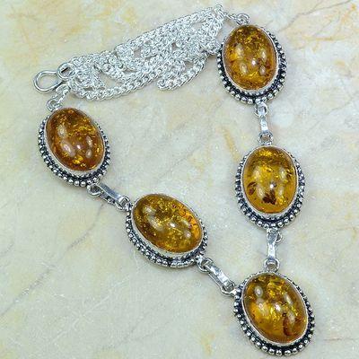 Amb 009a collier parure sautoir ambre amber baltique baltic achat vente bijoux argent 925