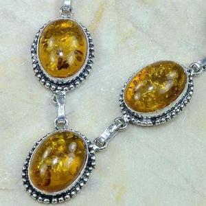 Amb 009b collier parure sautoir ambre amber baltique baltic achat vente bijoux argent 925