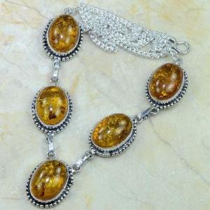 Amb 009d collier parure sautoir ambre amber baltique baltic achat vente bijoux argent 925