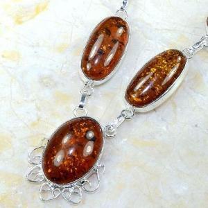 Amb 016b collier parure sautoir ambre amber baltique baltic achat vente bijoux argent 925