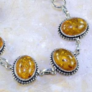 Amb 024c bracelet ambre amber baltique baltic achat vente bijoux argent 925