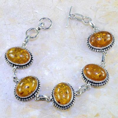 Amb 024d bracelet ambre amber baltique baltic achat vente bijoux argent 925