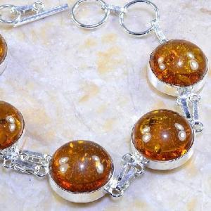 Amb 026b bracelet ambre amber baltique baltic achat vente bijoux argent 925