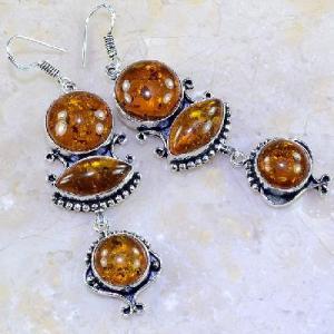 Amb 027a boucles pendants oreilles ambre amber baltique achat vente bijoux argent 925