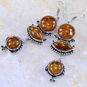 Amb 027b boucles pendants oreilles ambre amber baltique achat vente bijoux argent 925