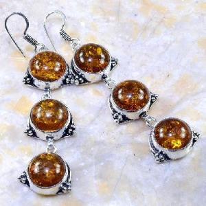 Amb 028a boucles pendants oreilles ambre amber baltique achat vente bijoux argent 925
