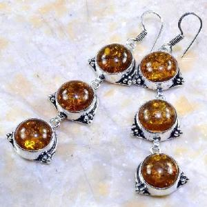Amb 028b boucles pendants oreilles ambre amber baltique achat vente bijoux argent 925