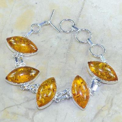 Amb 031a bracelet ambre amber baltique baltic achat vente bijoux argent 925