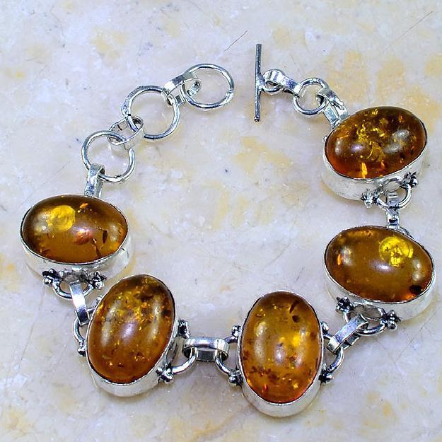 Amb 041a bracelet ambre amber baltique baltic achat vente bijoux argent 925