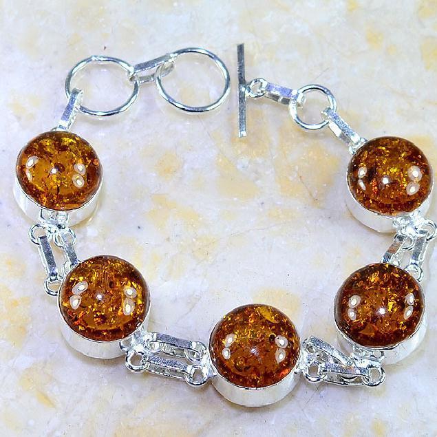 Amb 042a bracelet ambre amber baltique baltic achat vente bijoux argent 925